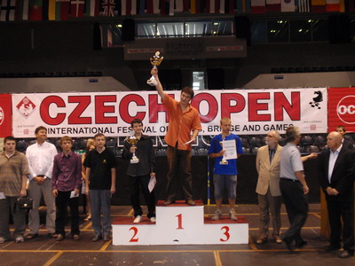 grandmaster Anton Korobov at Czech Open