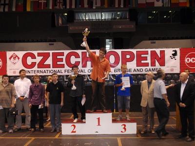 grandmaster Anton Korobov at Czech Open