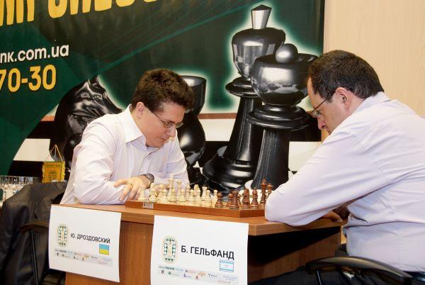 Juri Drozdovskij vs Boris Gelfand